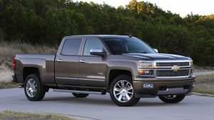 2014 Chevy Silverado 1500 brown