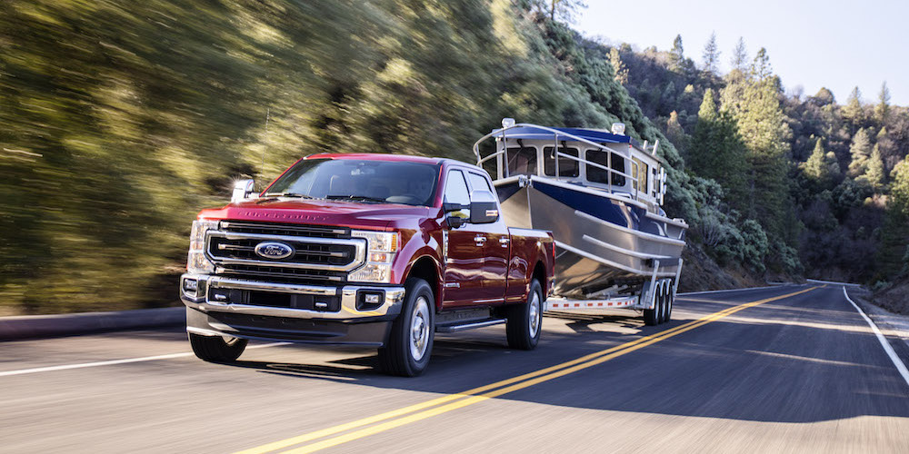 Most powerful Super Duty yet launches with two new engine offerings including all-new advanced 7.3-liter gasoline V8 and upgraded third-generation 6.7-liter Power Stroke® diesel V8; all-new heavy-duty 10-speed TorqShift® automatic transmission